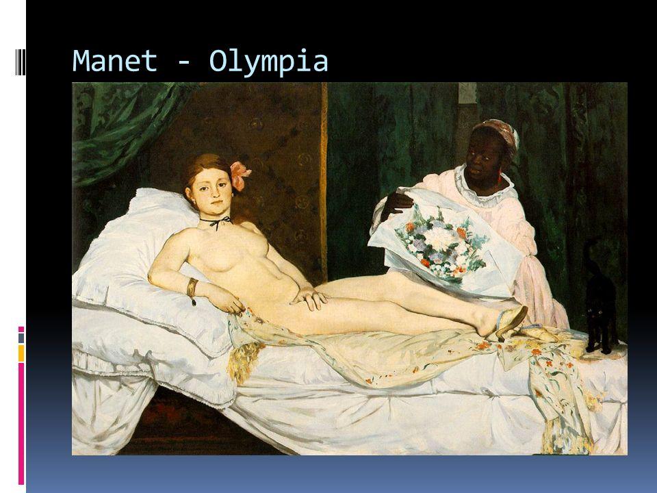 Manet - Olympia