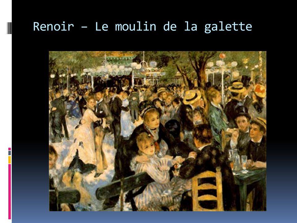 Renoir – Le moulin de la galette
