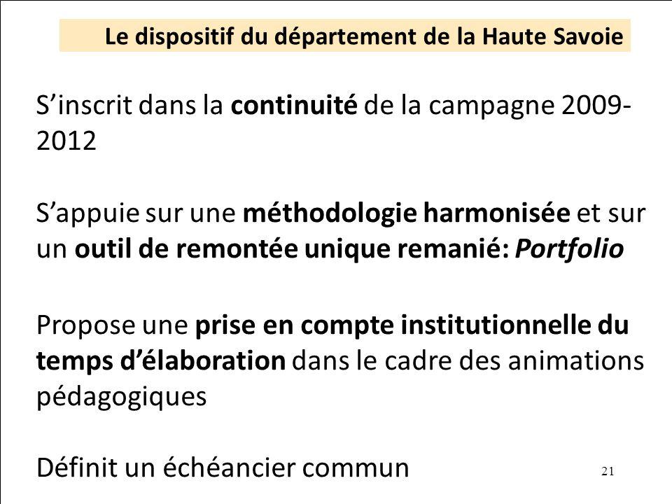Le dispositif du département de la Haute Savoie