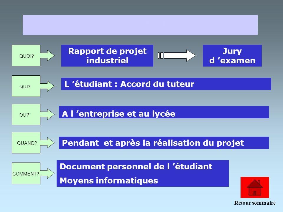 Rapport de projet industriel