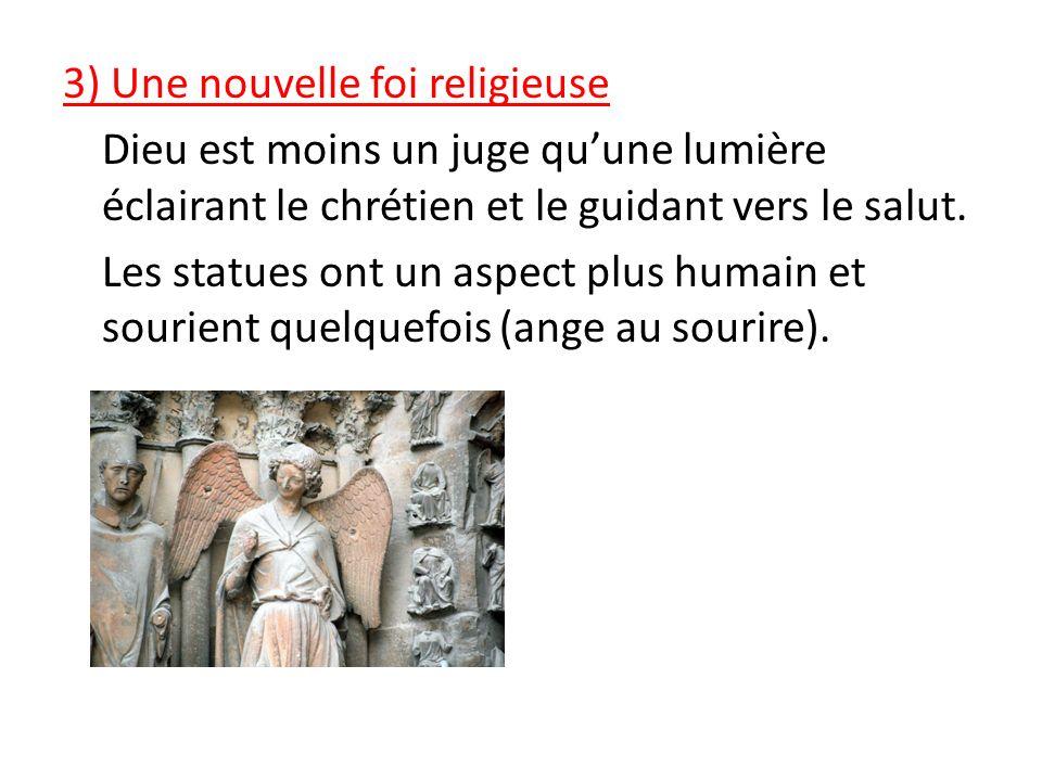 3) Une nouvelle foi religieuse Dieu est moins un juge qu'une lumière éclairant le chrétien et le guidant vers le salut.