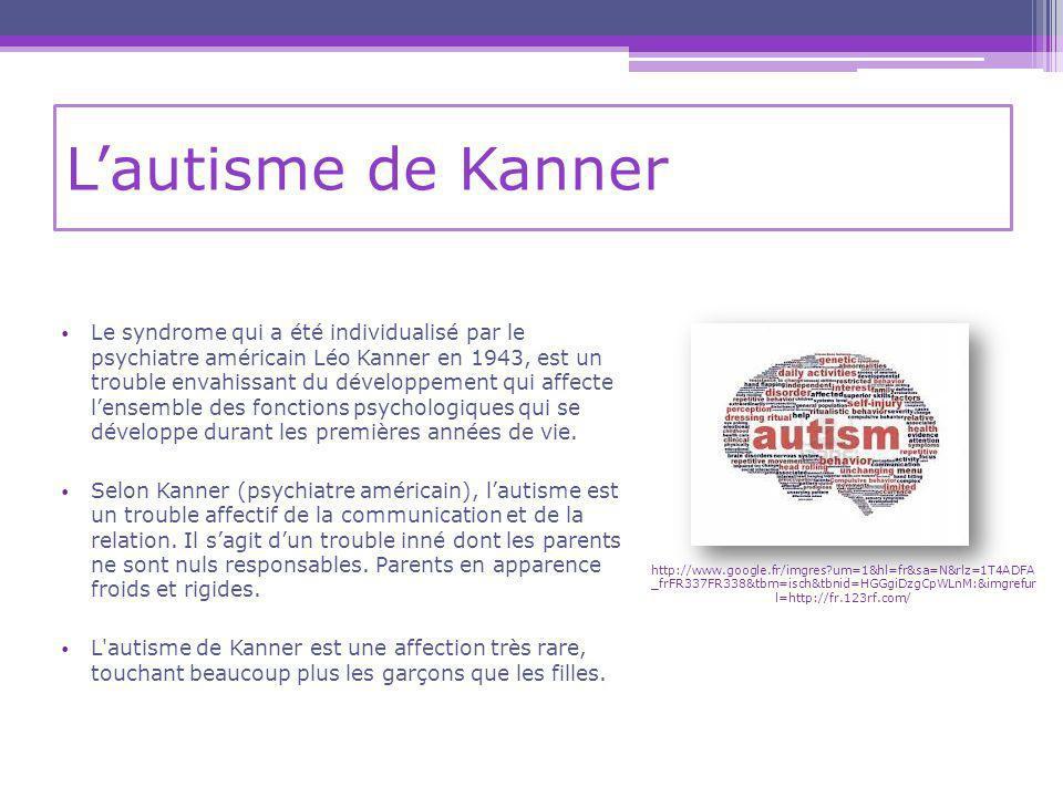 L'autisme de Kanner