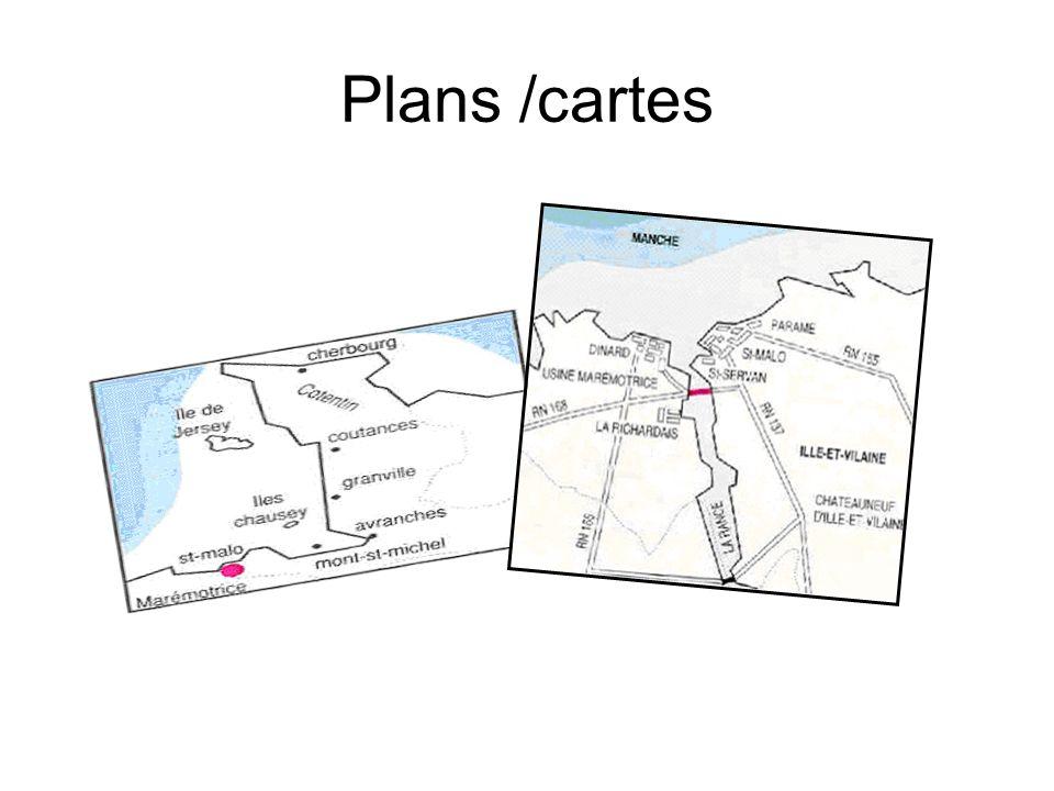 Plans /cartes