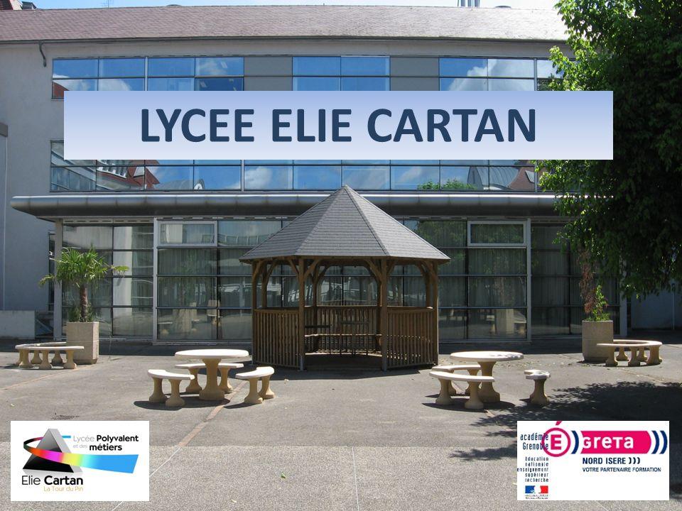 LYCEE ELIE CARTAN 1 1