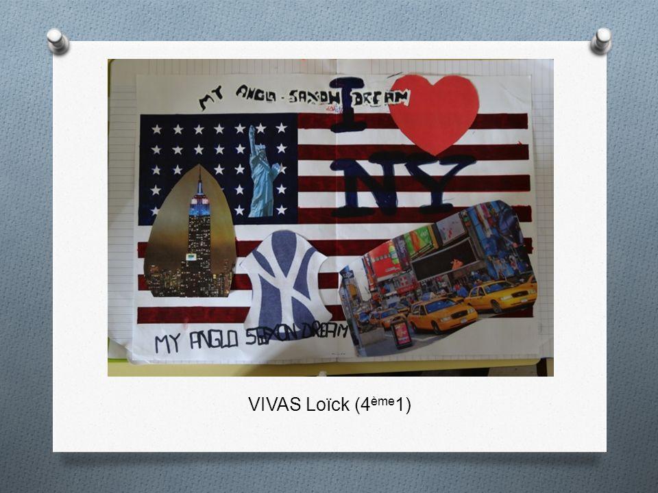 VIVAS Loïck (4ème1)