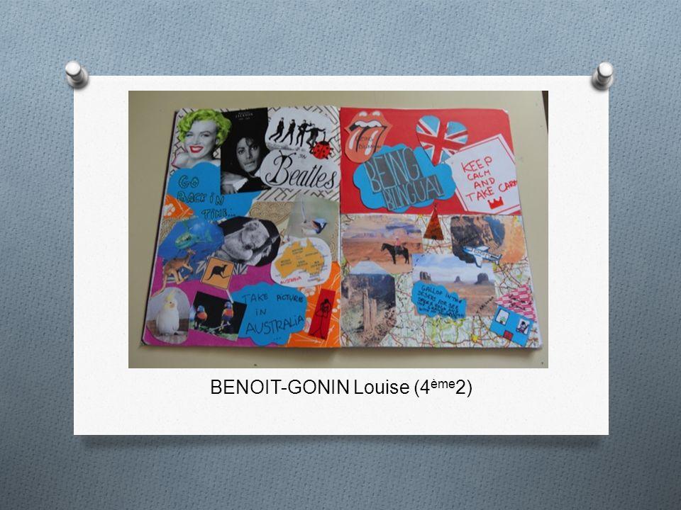 BENOIT-GONIN Louise (4ème2)