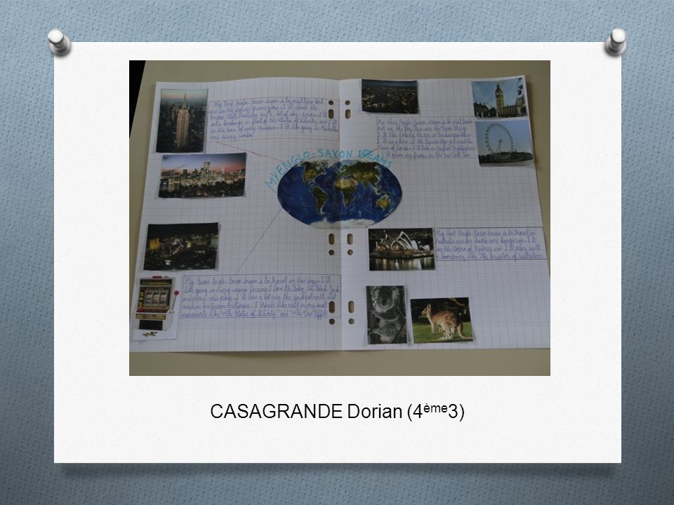 CASAGRANDE Dorian (4ème3)