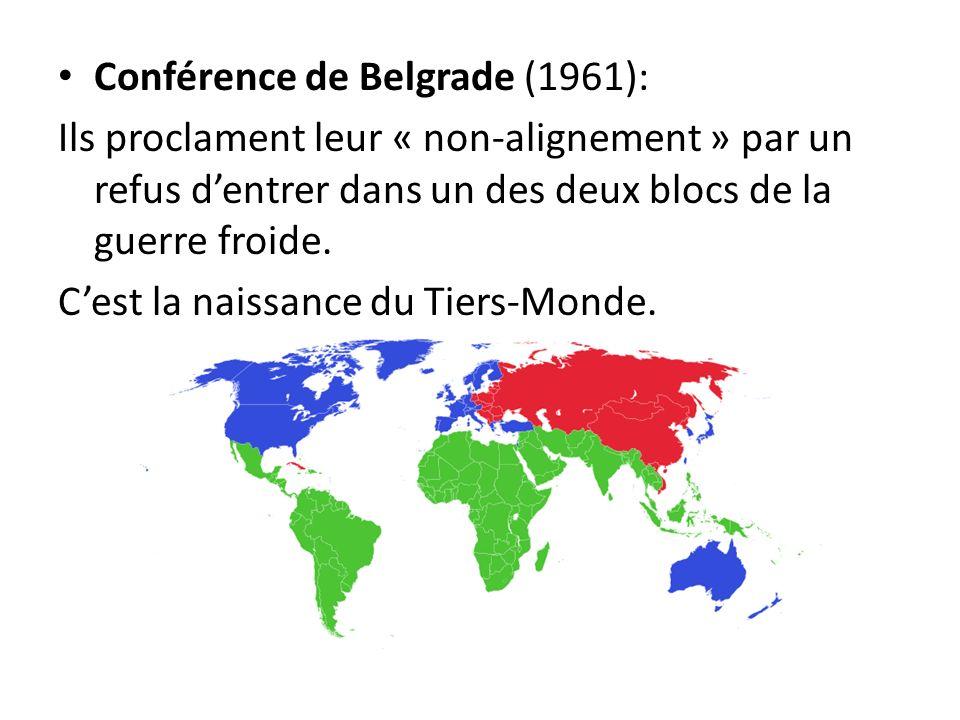 Conférence de Belgrade (1961):