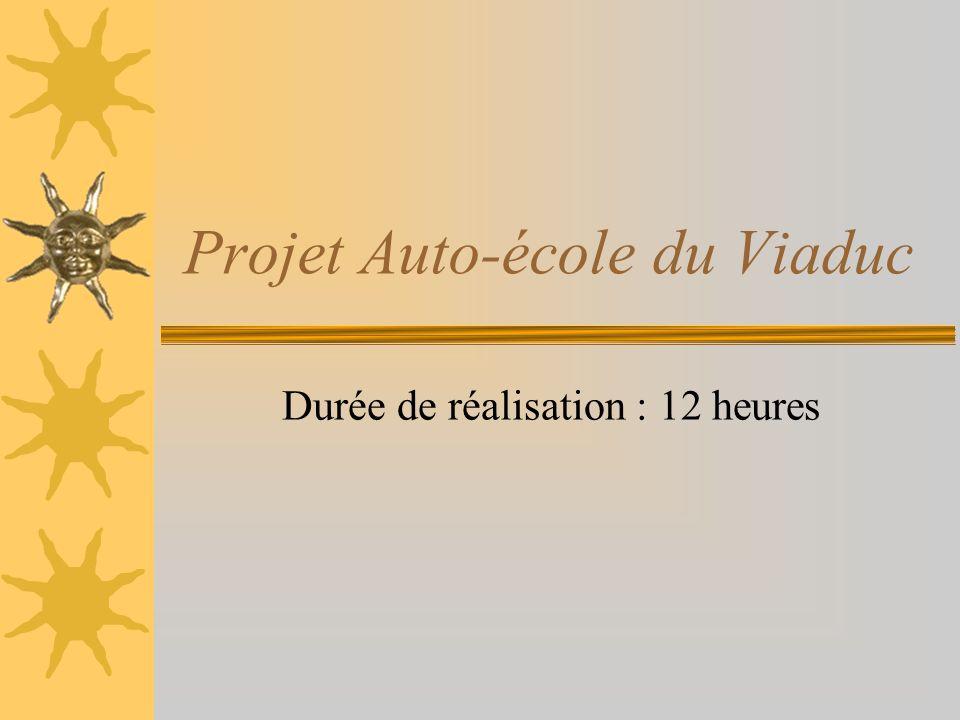 Projet Auto-école du Viaduc