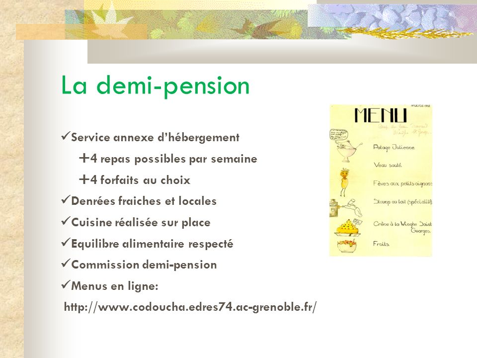 La demi-pension