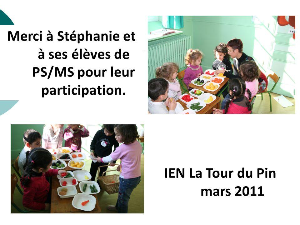 Merci à Stéphanie et à ses élèves de PS/MS pour leur participation.