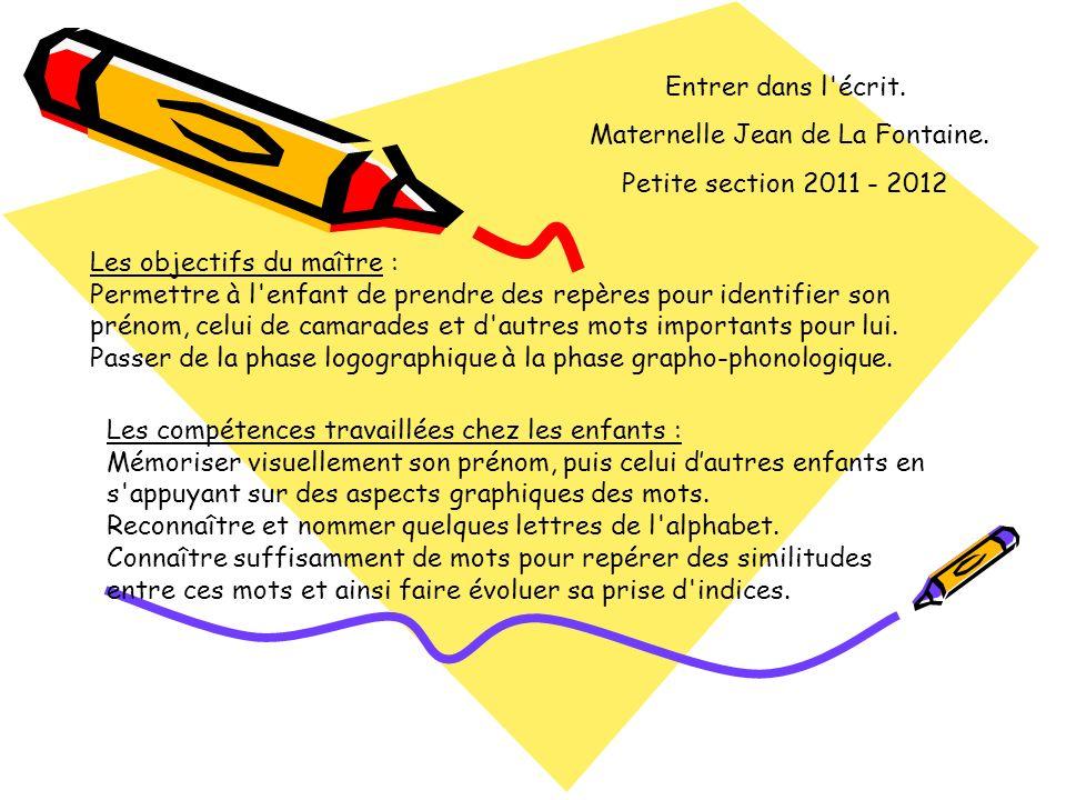 Maternelle Jean de La Fontaine.