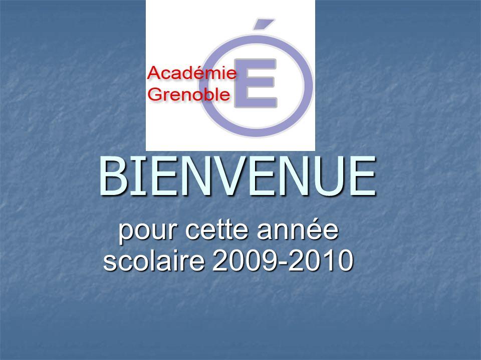 pour cette année scolaire 2009-2010