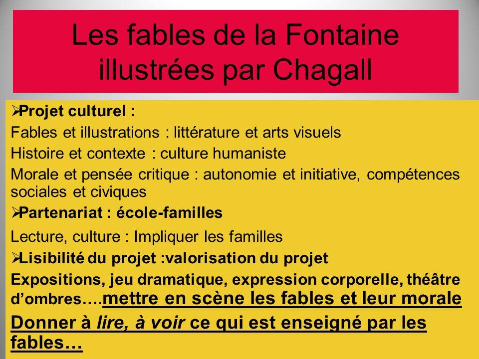 Les fables de la Fontaine illustrées par Chagall