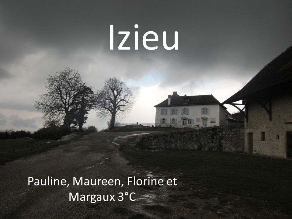 Pauline, Maureen, Florine et Margaux 3°C