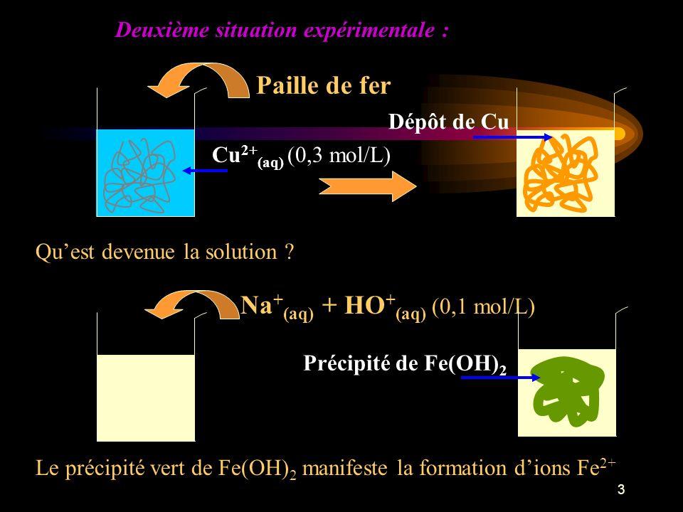 Na+(aq) + HO+(aq) (0,1 mol/L)