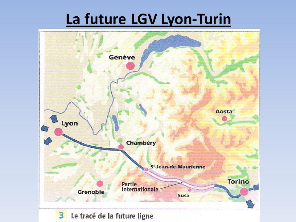 La future LGV Lyon-Turin