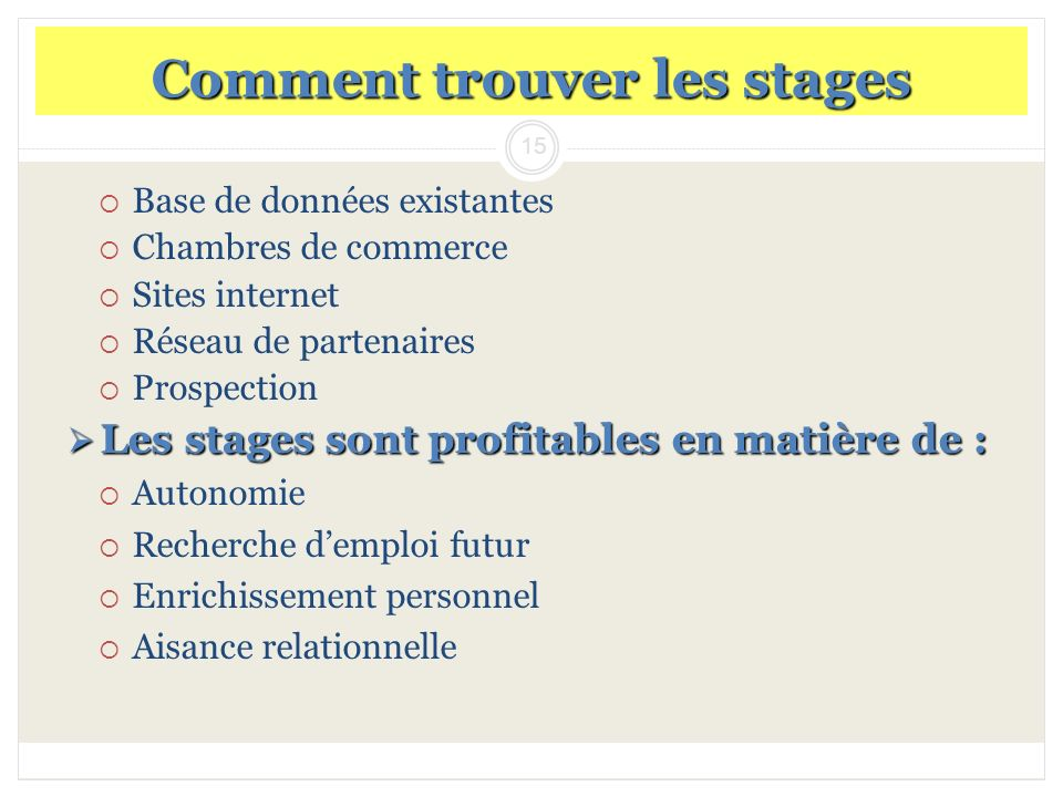 Bts assistant de gestion pme i ppt video online t l charger for Stage chambre de commerce