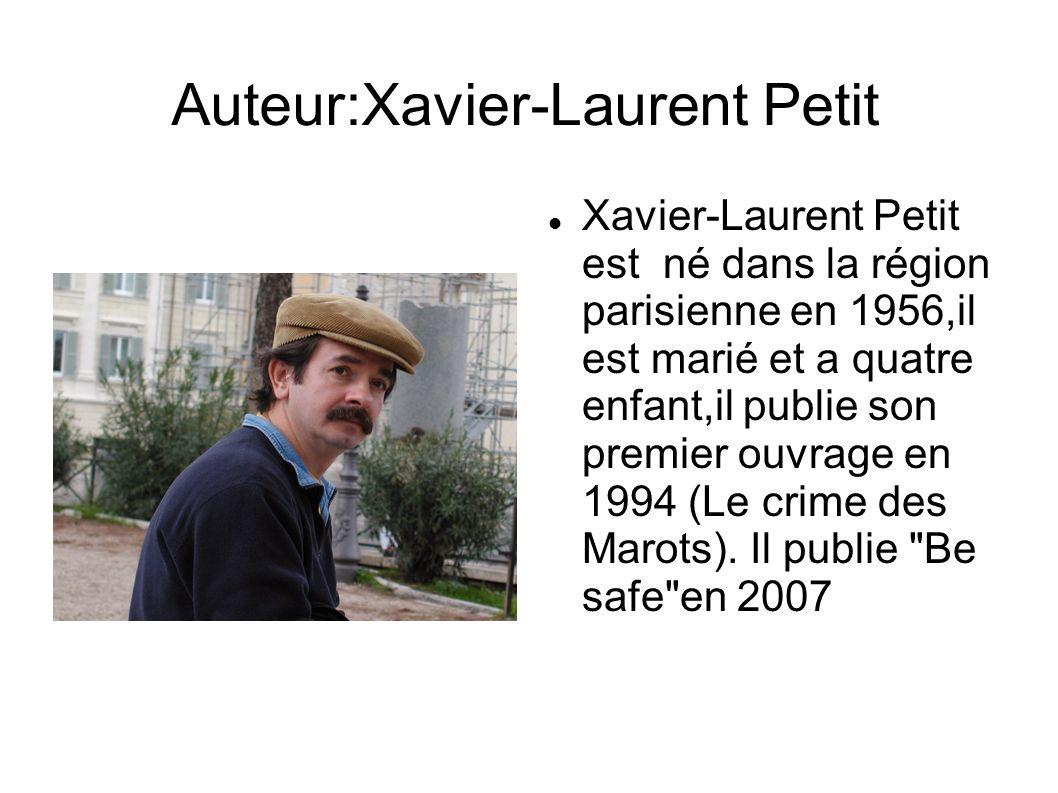 Auteur:Xavier-Laurent Petit