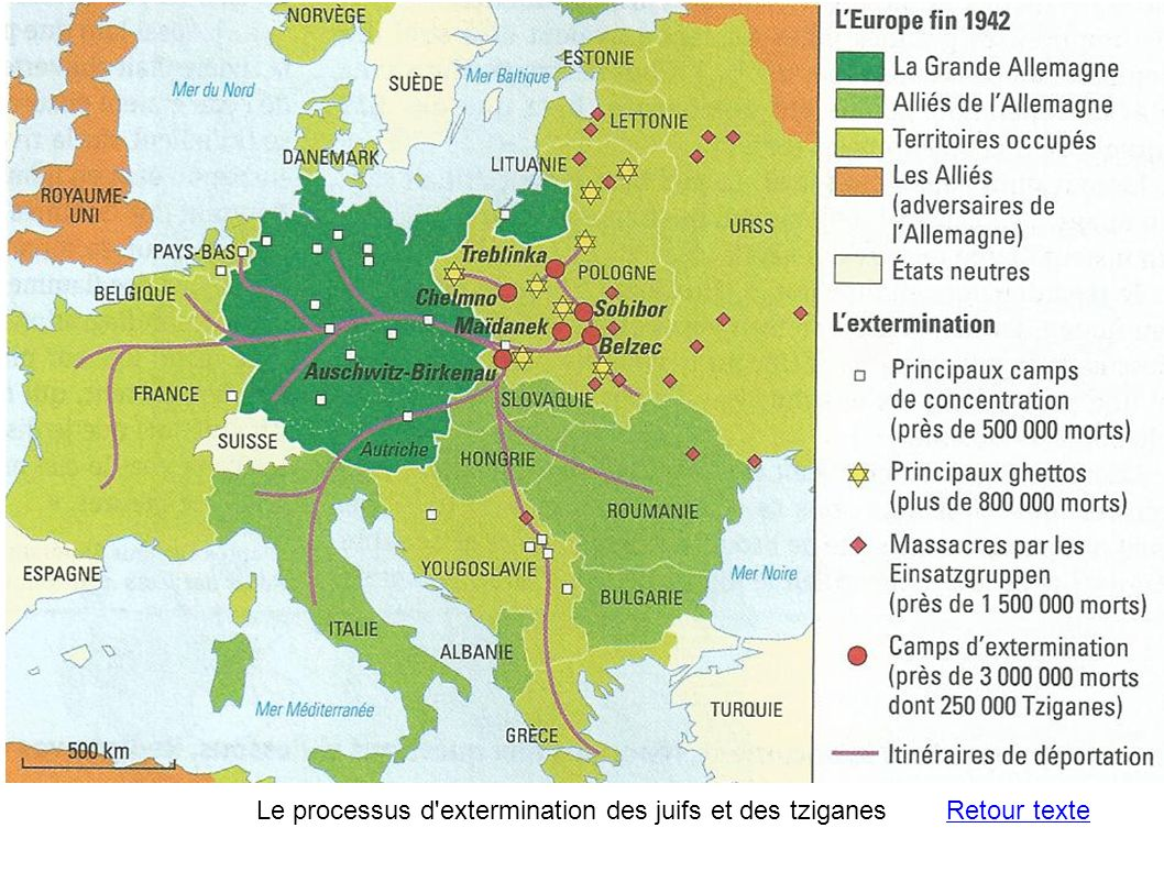 Le processus d extermination des juifs et des tziganes