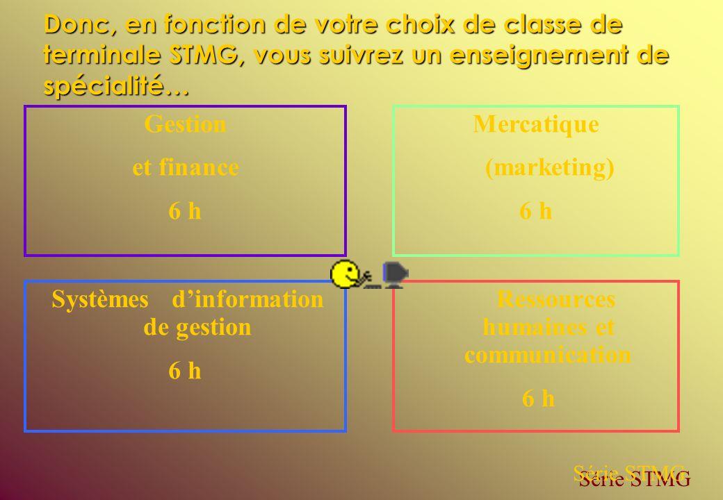 Systèmes d'information de gestion Ressources humaines et communication