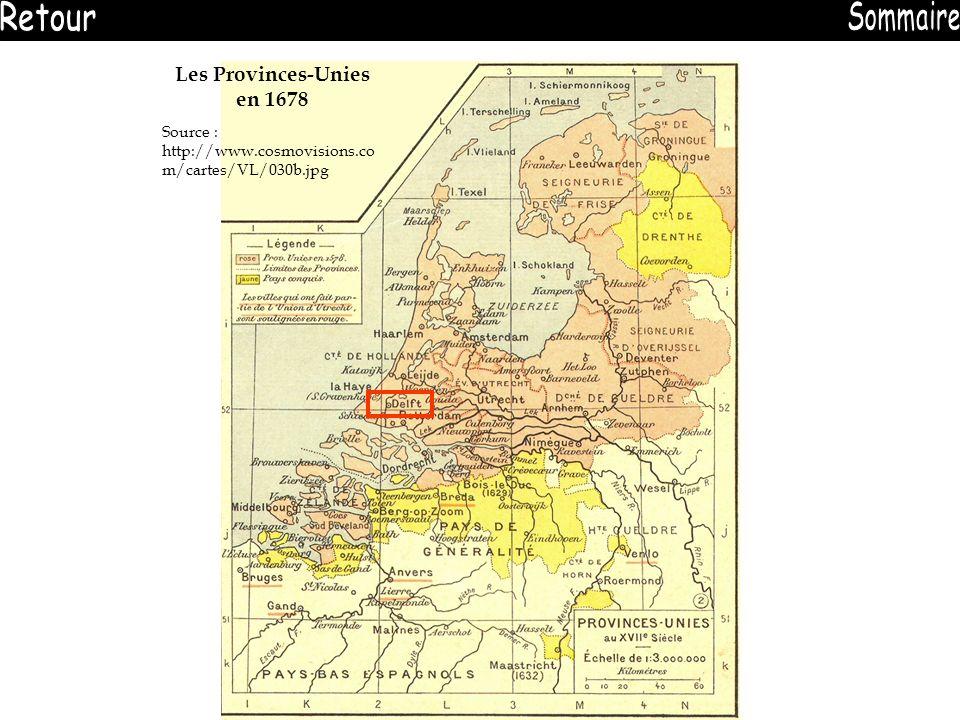 Les Provinces-Unies en 1678