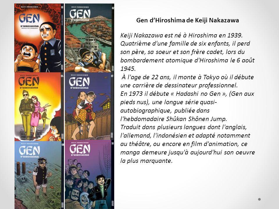 Gen d'Hiroshima de Keiji Nakazawa