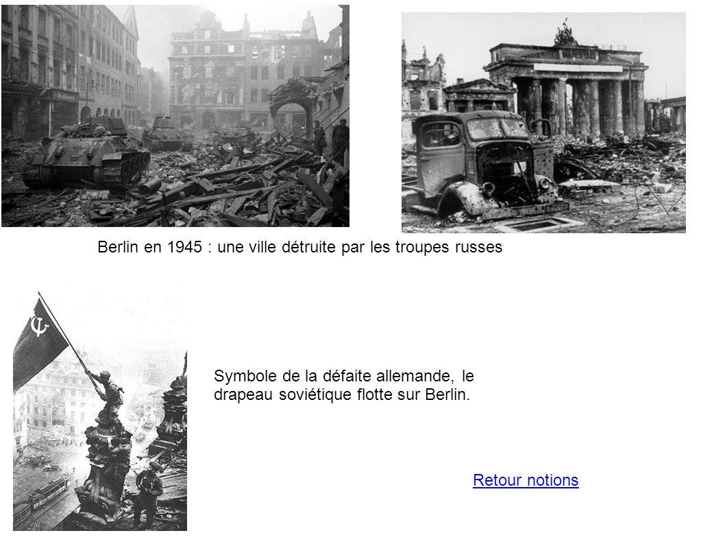 Berlin en 1945 : une ville détruite par les troupes russes