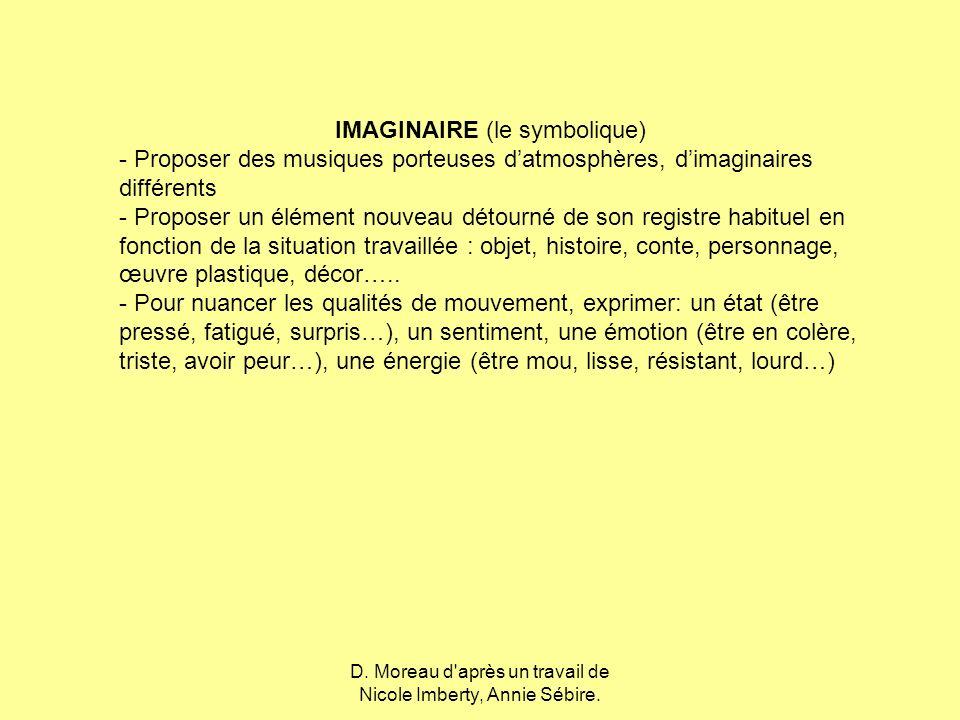 IMAGINAIRE (le symbolique)