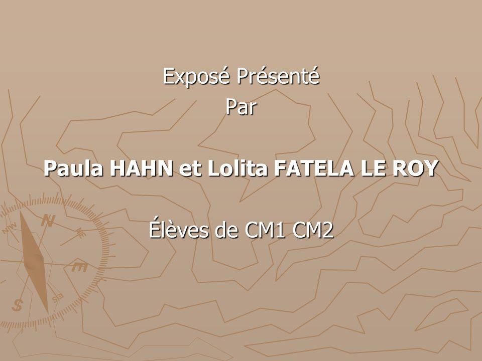Paula HAHN et Lolita FATELA LE ROY