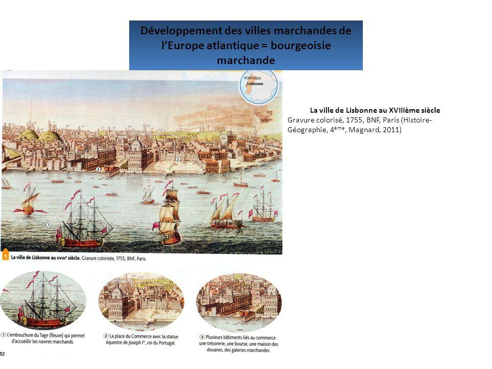 La ville de Lisbonne au XVIIIème siècle