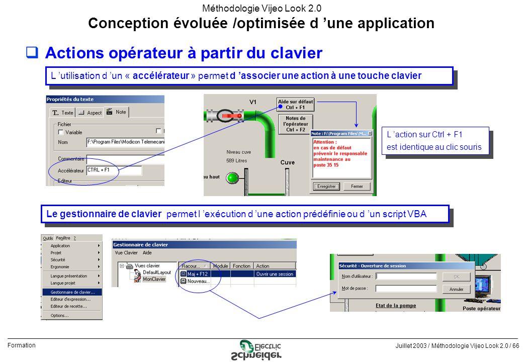 Conception évoluée /optimisée d 'une application