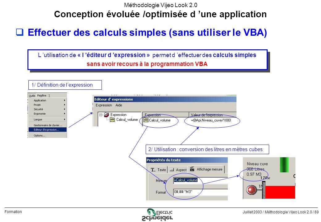 Effectuer des calculs simples (sans utiliser le VBA)