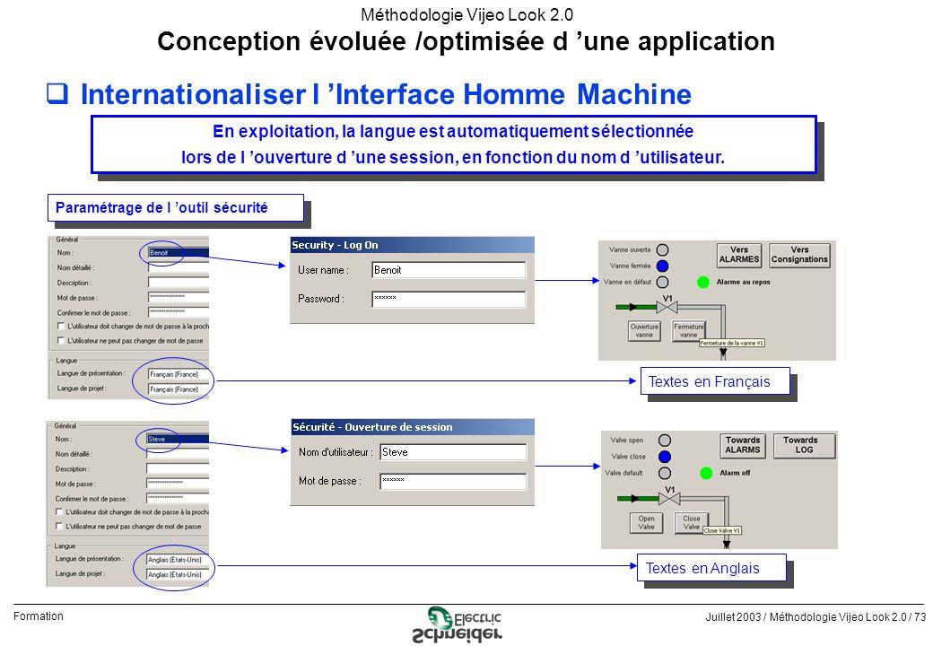 Internationaliser l 'Interface Homme Machine