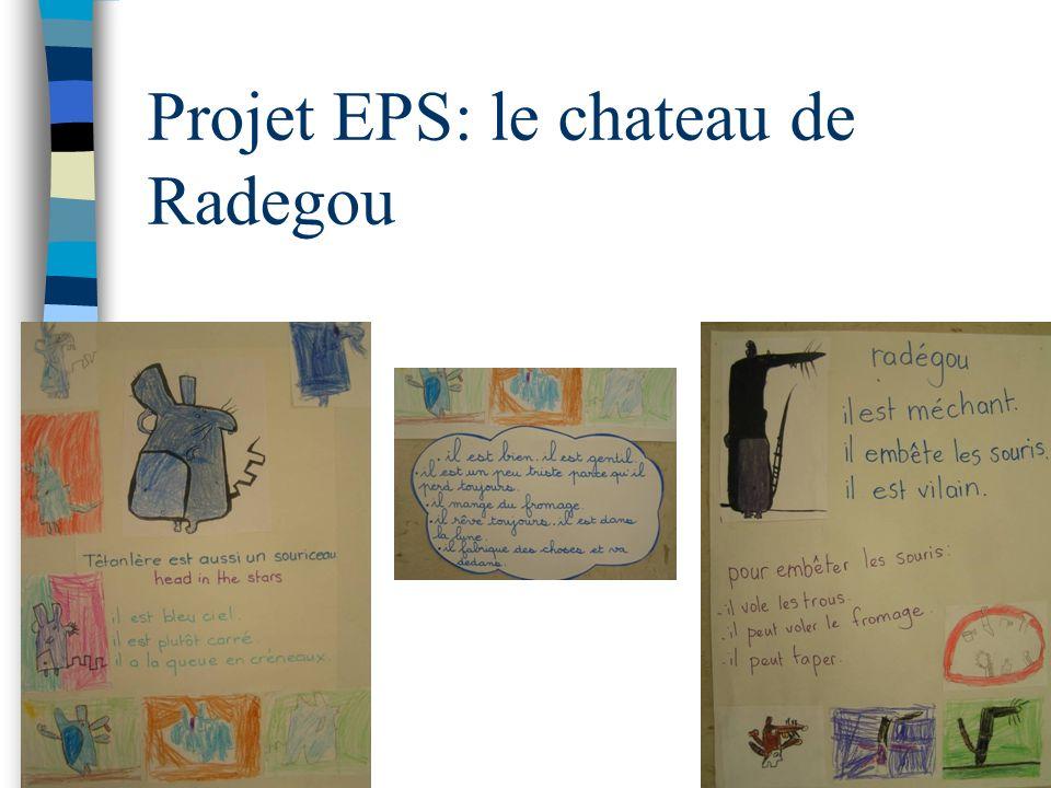 Projet EPS: le chateau de Radegou