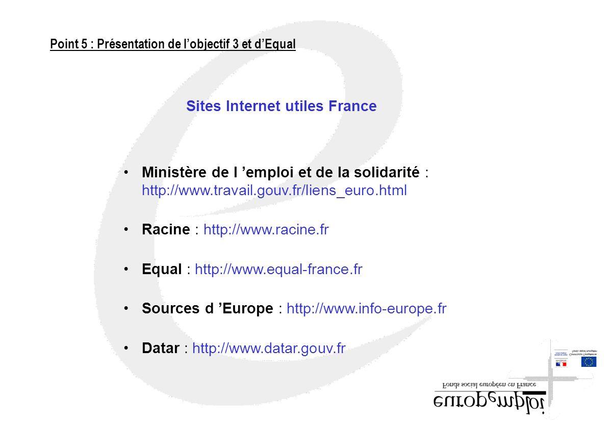 Sites Internet utiles France