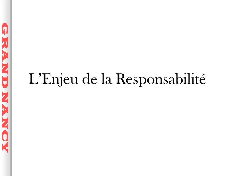 L'Enjeu de la Responsabilité