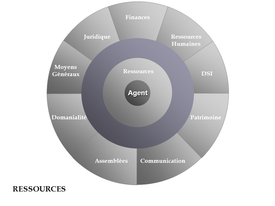 RESSOURCES Agent Finances Juridique Ressources Humaines Moyens