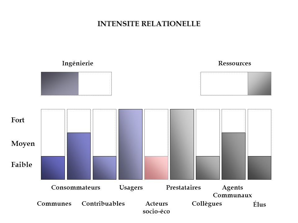 INTENSITE RELATIONELLE