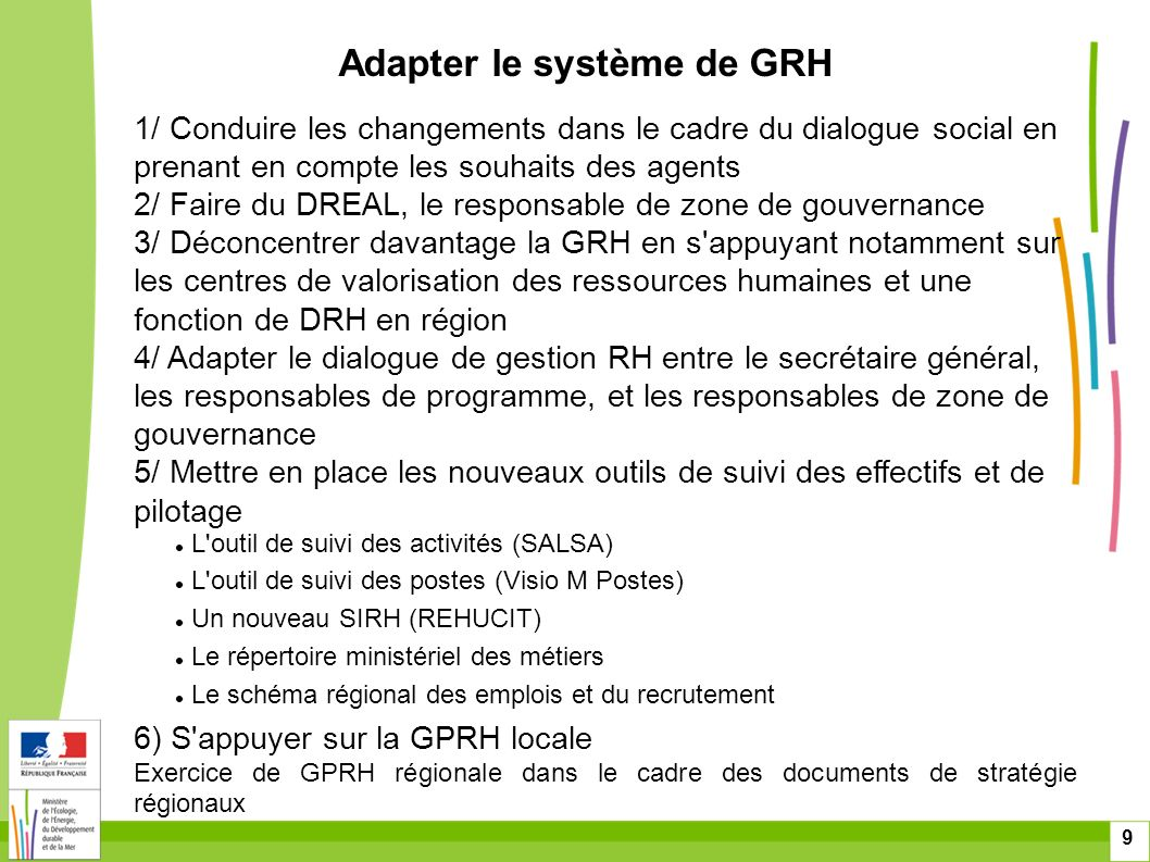 Adapter le système de GRH
