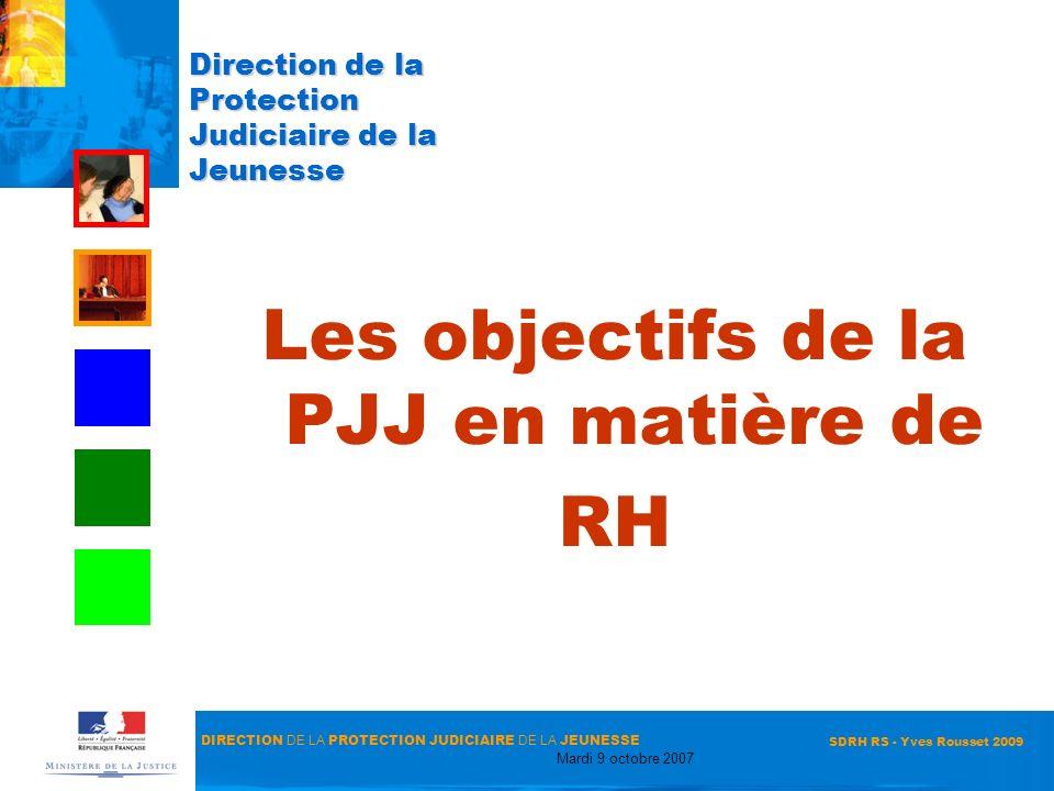 Direction de la Protection Judiciaire de la Jeunesse