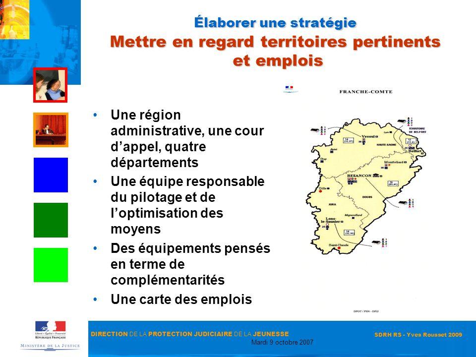 Une région administrative, une cour d'appel, quatre départements