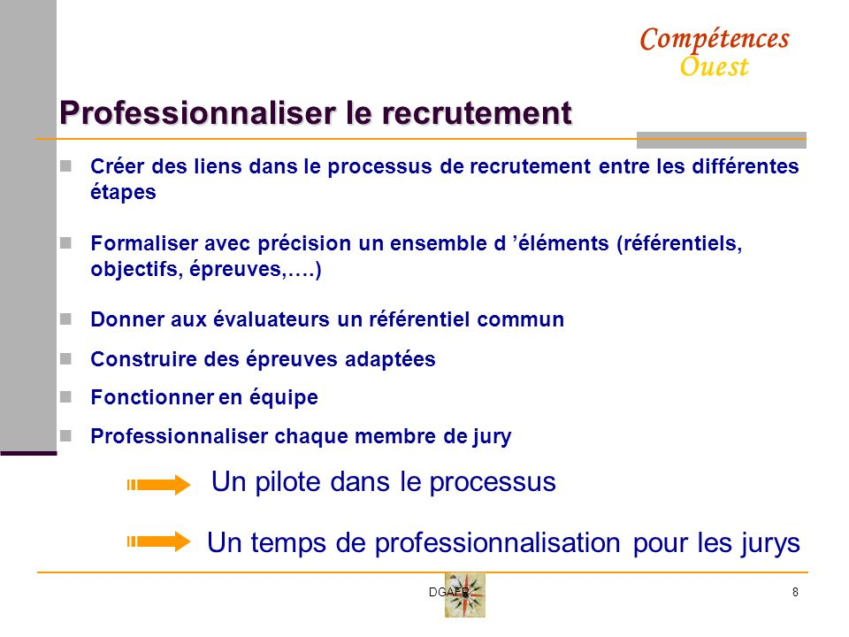 Professionnaliser le recrutement