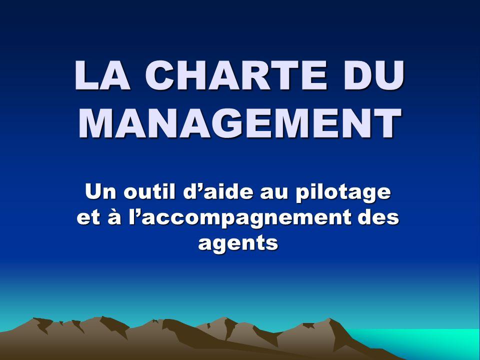 LA CHARTE DU MANAGEMENT