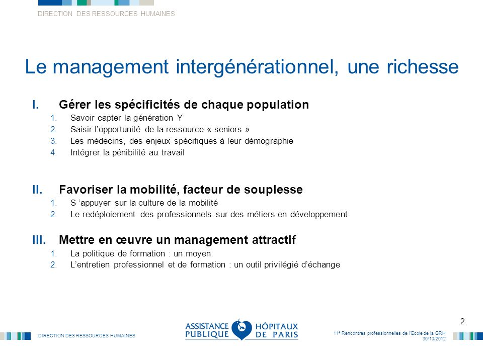 Le management intergénérationnel, une richesse