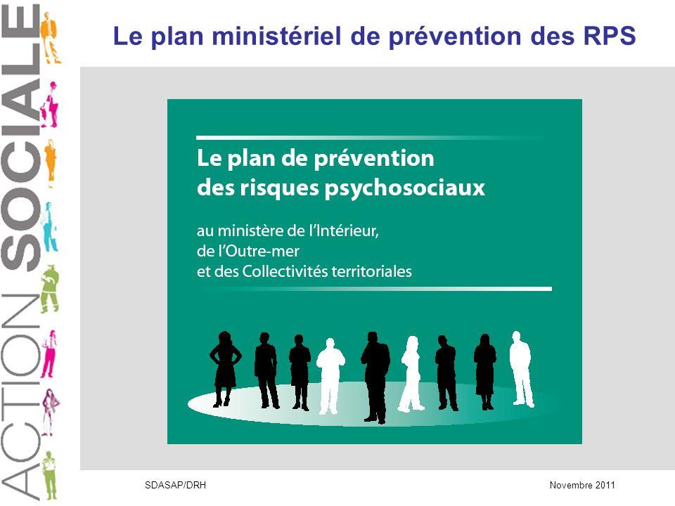 Le plan ministériel de prévention des RPS