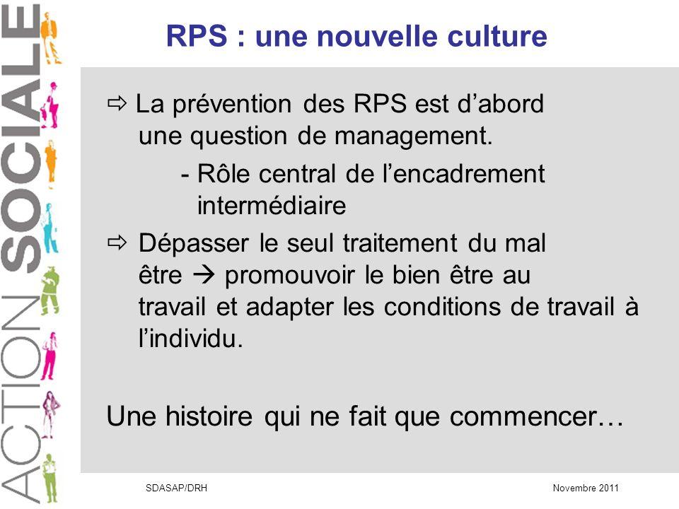 RPS : une nouvelle culture