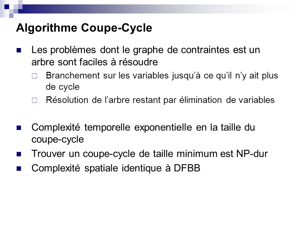 Algorithme Coupe-Cycle