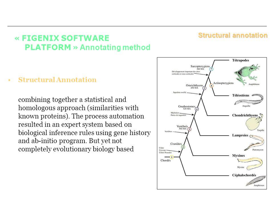 « FIGENIX SOFTWARE PLATFORM » Annotating method