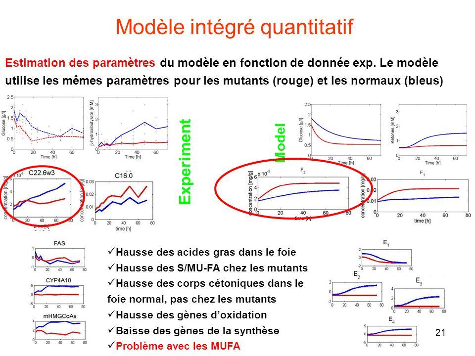 Modèle intégré quantitatif